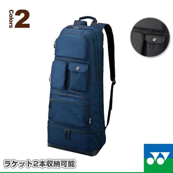 ラケットバッグ2/リュック付/テニス2本用(BAG1652TR)