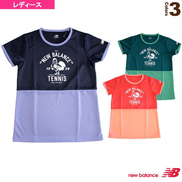 ショートスリーブプラクティスTシャツ/Roosterカラーブロッキング/レディース(JWTT6752)