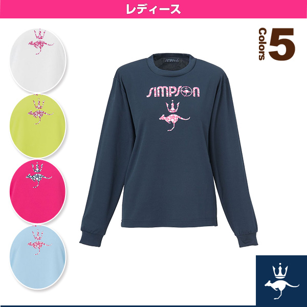 長袖Tシャツ/レディース(STW-62106)