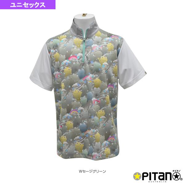 UVカット&クール・ジップアップシャツ/ユニセックス(OPT-121)