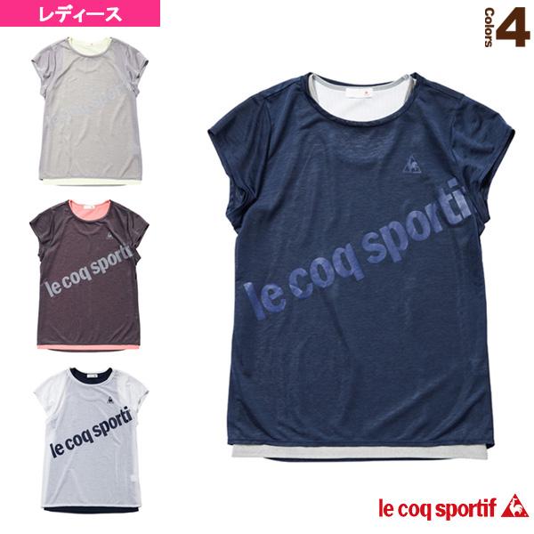 半袖シャツ/2枚重ね/レディース(QB015173CP)
