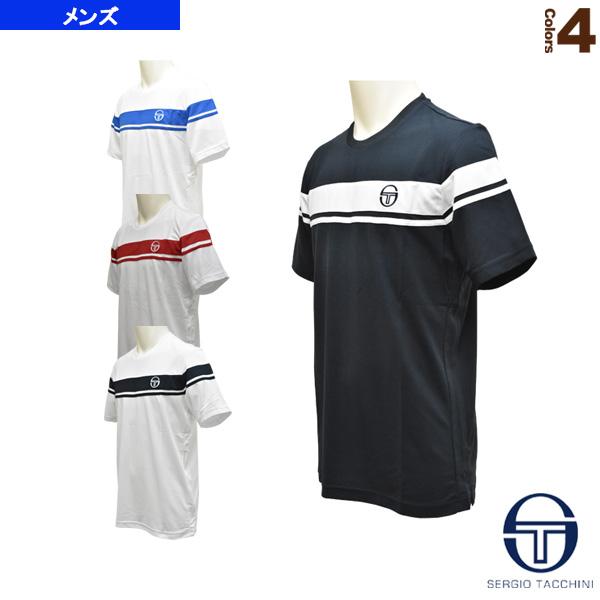 4032d1221150c [セルジオタッキーニ テニス・バドミントン ウェア(メンズ/ユニ)]YOUNG LINE PRO T-SHIRT/ヤングライン プロ Tシャツ/メンズ (36851)