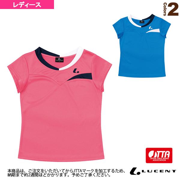 ゲームシャツ/襟なし/JTTA公認マーク付/レディース(XLH-232xP)