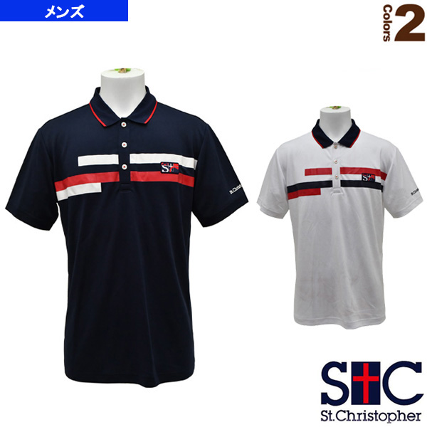 ブレストラインポロシャツ/メンズ(STC-AHM5071)