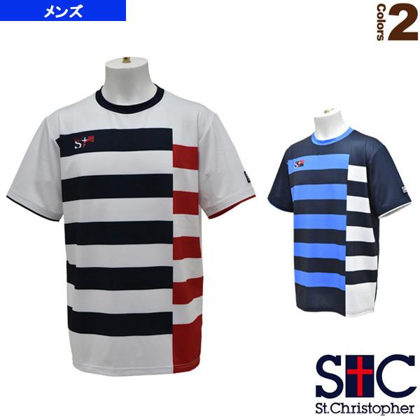 ボーダーゲームTシャツ/メンズ(STC-AHM5081)