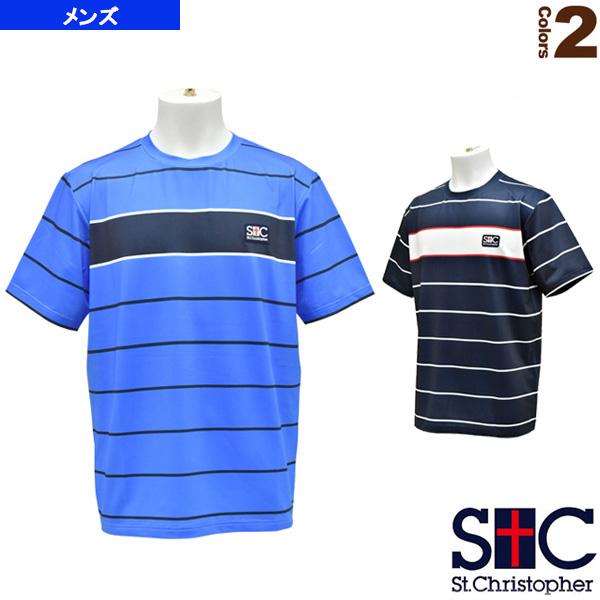 ボーダーゲームTシャツ/メンズ(STC-AHM5087)