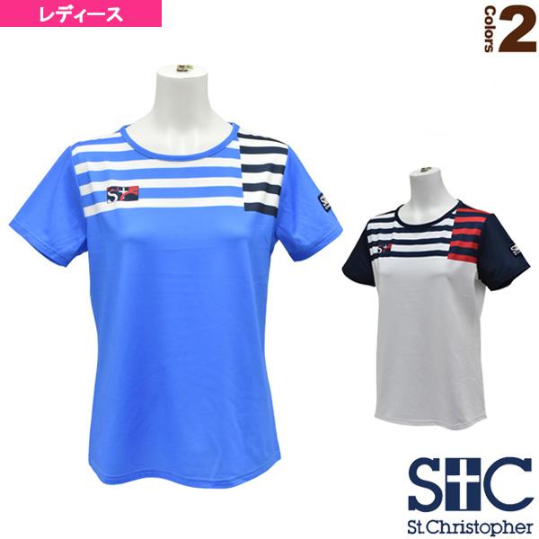 ショルダーボーダーゲームTシャツ/レディース(STC-AHW6103)
