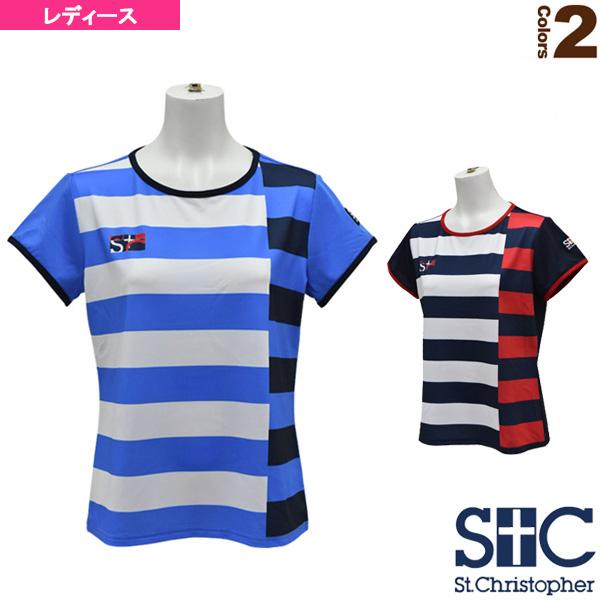 ボーダーゲームTシャツ/レディース(STC-AHW6105)