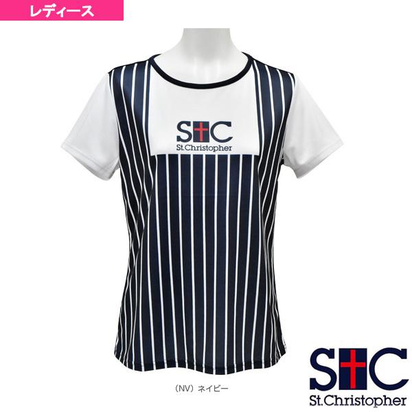 ストライププラクティスTシャツ/レディース(STC-AHW6121)