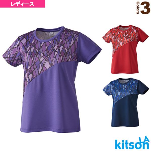 幾何学柄ゲームシャツ/レディース(0384013)