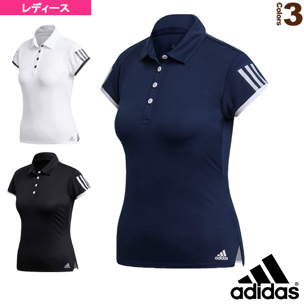 TENNIS CLUB 3ST POLO/テニスクラブ 3ST ポロシャツ/レディース(FRO23)