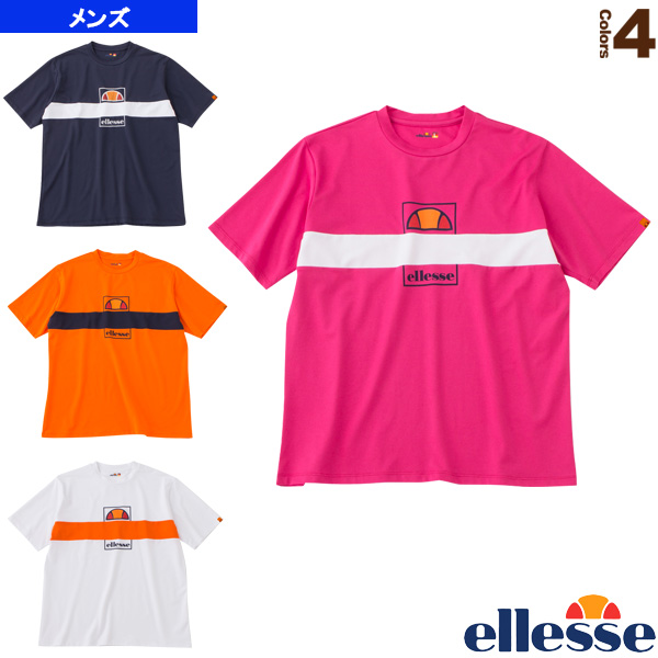 ショートスリーブラインテニスティー/SS Line Tennis Tee/メンズ(EM10111)