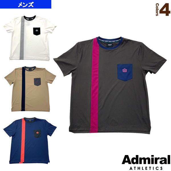 ヴァーティカルロゴプラクティスT/メンズ(ATMA012)