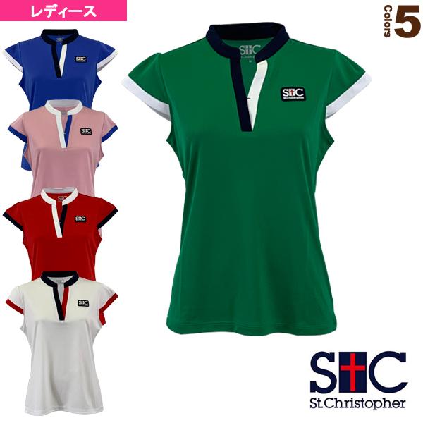 スタンドカラーゲームシャツ/レディース(STC-BKW2191)