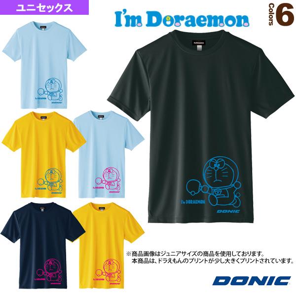 卓球TシャツA/DONIC × I am DORAEMON/ユニセックス(YL110)