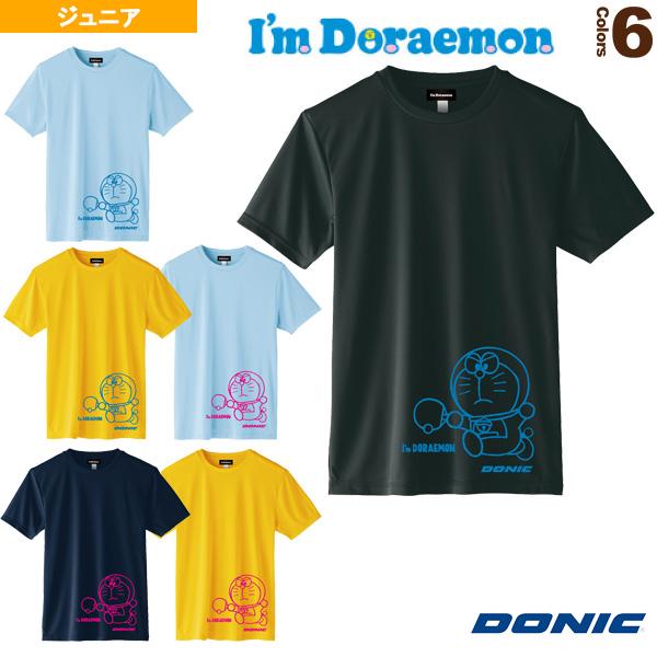 卓球TシャツA/DONIC × I am DORAEMON/ジュニア(YL110)