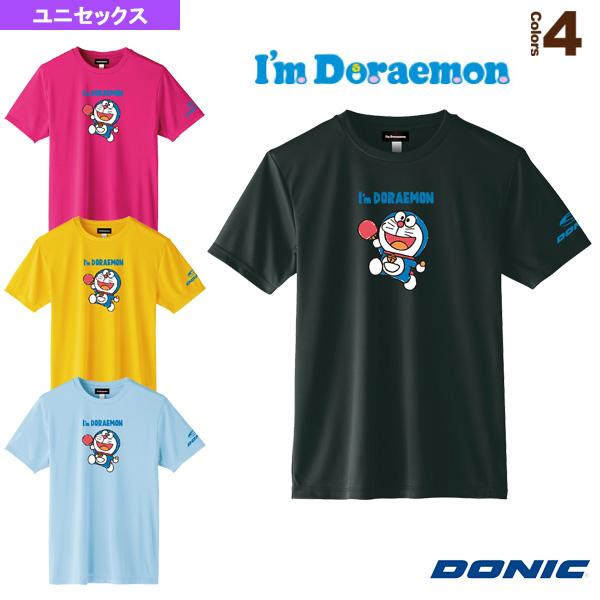 卓球TシャツB/DONIC × I am DORAEMON/ユニセックス(YL111)