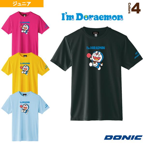 卓球TシャツB/DONIC × I am DORAEMON/ジュニア(YL111)