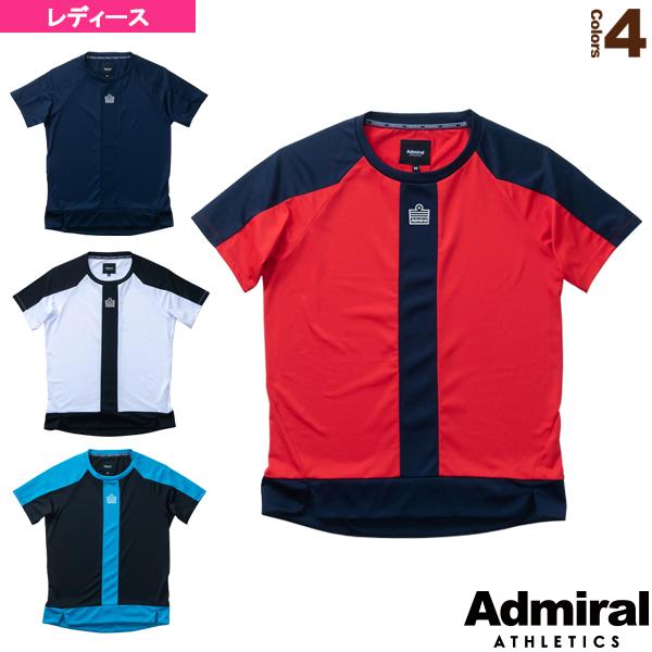 バイカラーギャザーTシャツ/レディース(ATLA060)