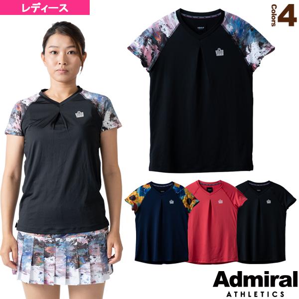 フロントタックデザインラグランTシャツ/レディース(ATLA101)