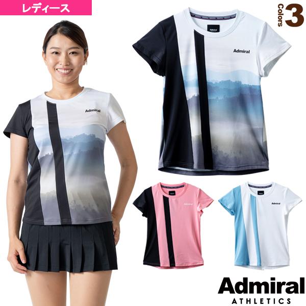 アシンメトリーラインTシャツ/レディース(ATLA125)