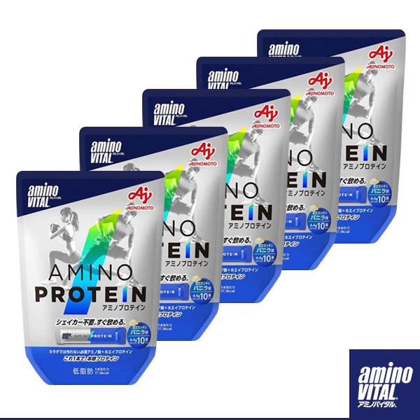 アミノバイタル アミノプロテイン/バニラ味/10本入り×5個(16AM-2600)