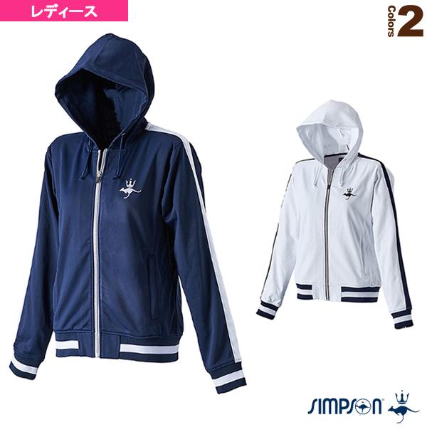 フード付きジャージジャケット/レディース(STW-52400)