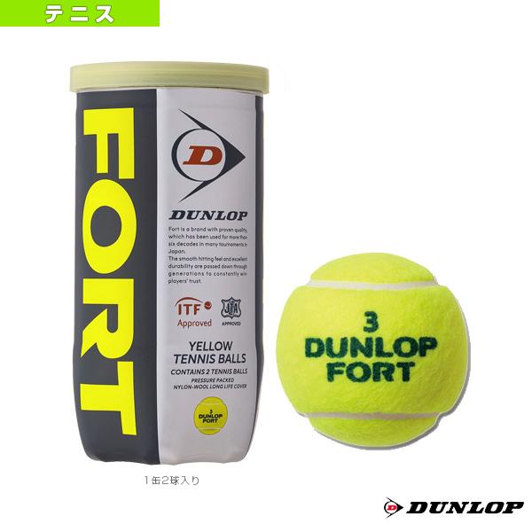 FORT 2球入(フォート)『ペット缶単位(1缶/2球)』(DFEYL2TIN)