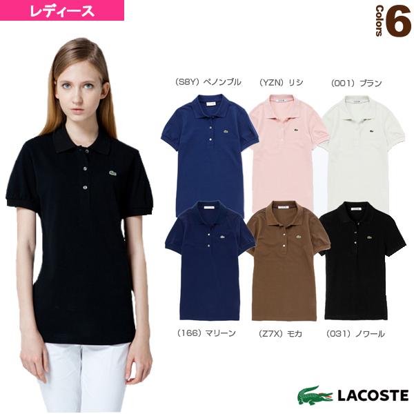 半袖リブカラーシャツ/レディース(L1113V)