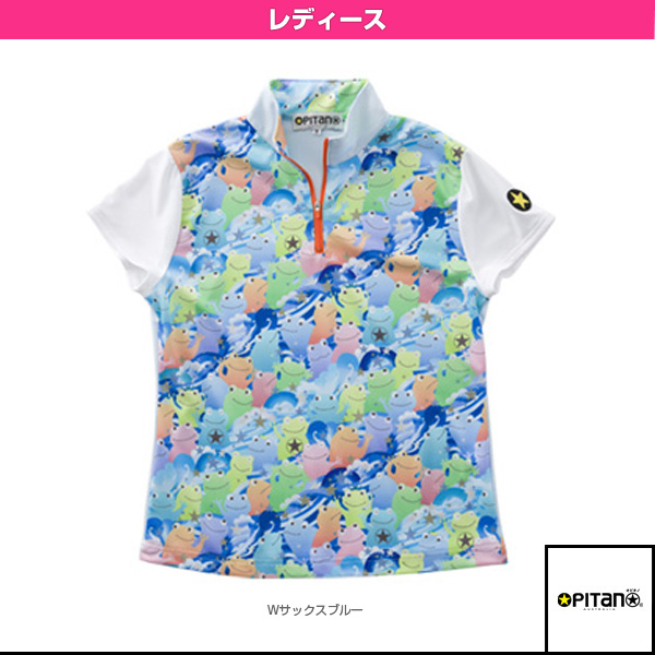 UVカット&クール・ジップシャツ/レディース(OPT-511)